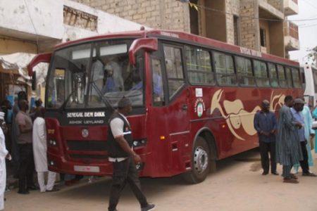 Dakar to Vélingara bus