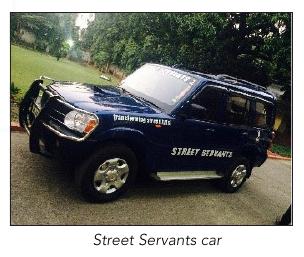 Street Servants car