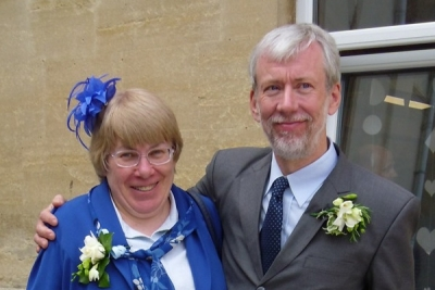 Photo of Steve and Gill, who serve with WEC