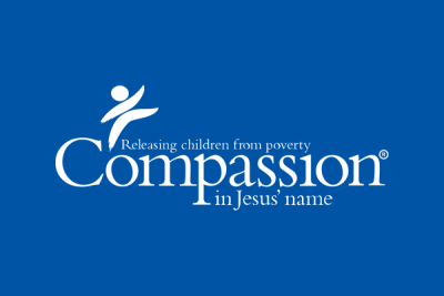 Logo of Compassion - Releasing children from poverty in Jesus' name