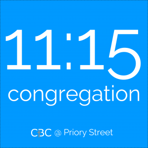 Link to details of our 11:15 Priory Street congregation