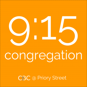 Link to details of our 9:15 Priory St congregation