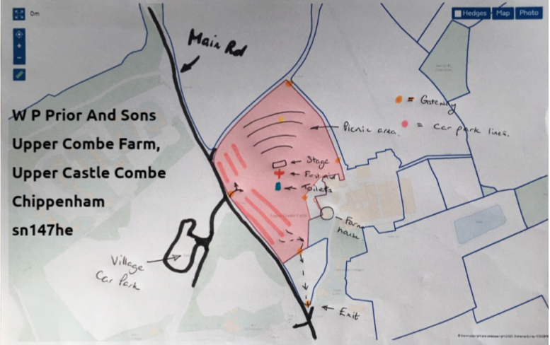 W P Prior and Sons Upper Coombe Farm Upper Castle Coombe SN14 7HE