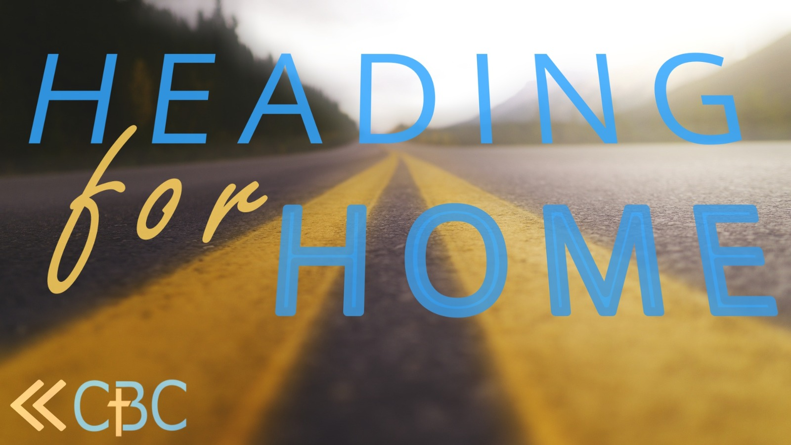Heading for home #1 – Sunday Service