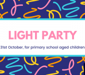 Light party for primary children 5-7pm on Sunday 31st Oct at Corsham Baptist Church, Priory Street
