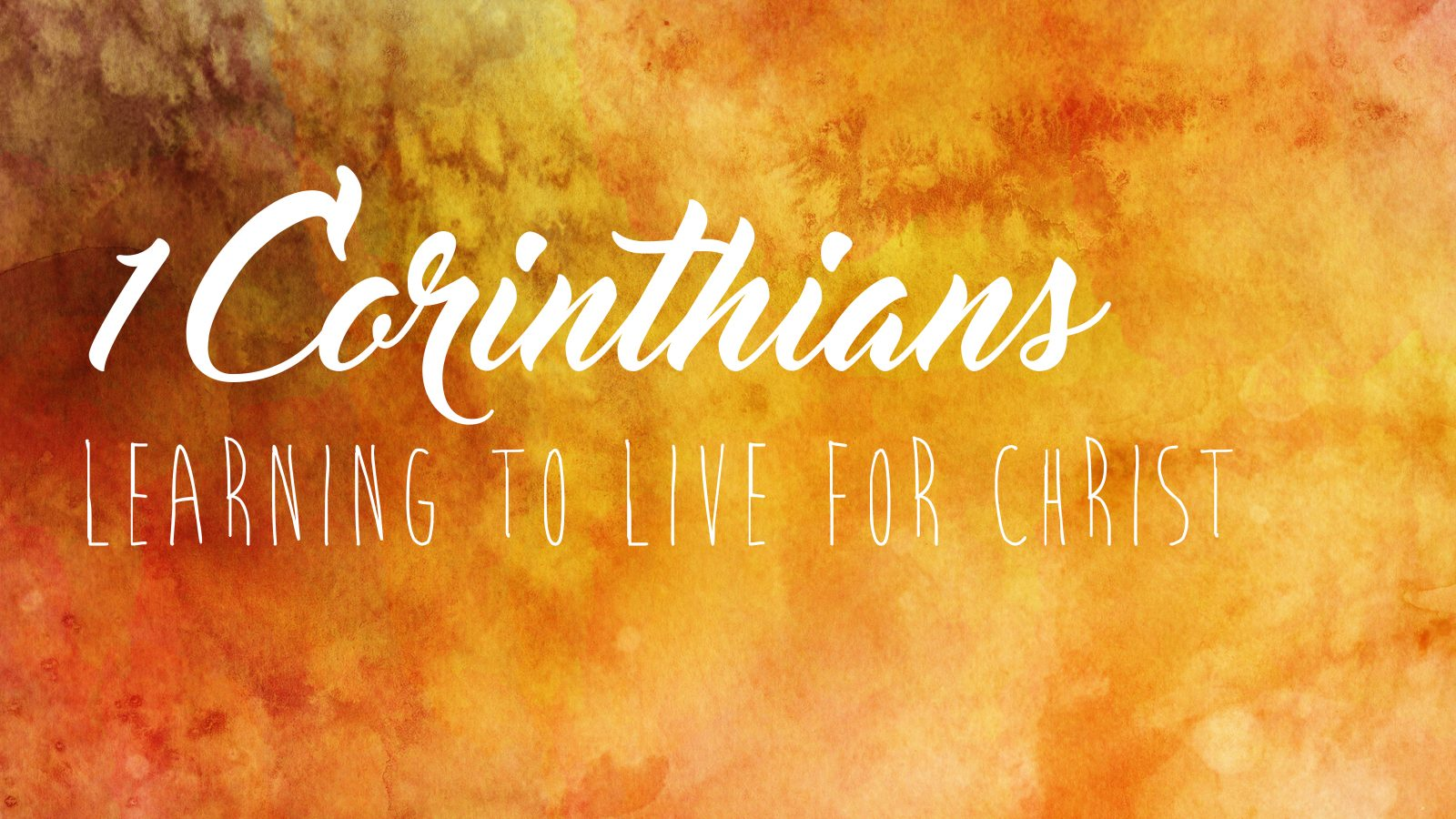 1 Corinthians 9: Paul's example: Giving yourself for the gospel